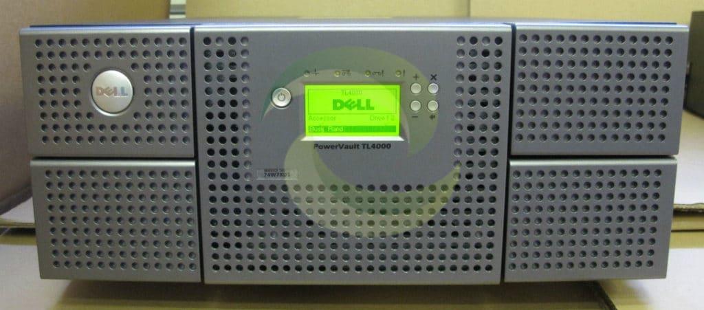 Dell Powervault Tl4000 Lto4 120 Sas Ultrium Drive Library