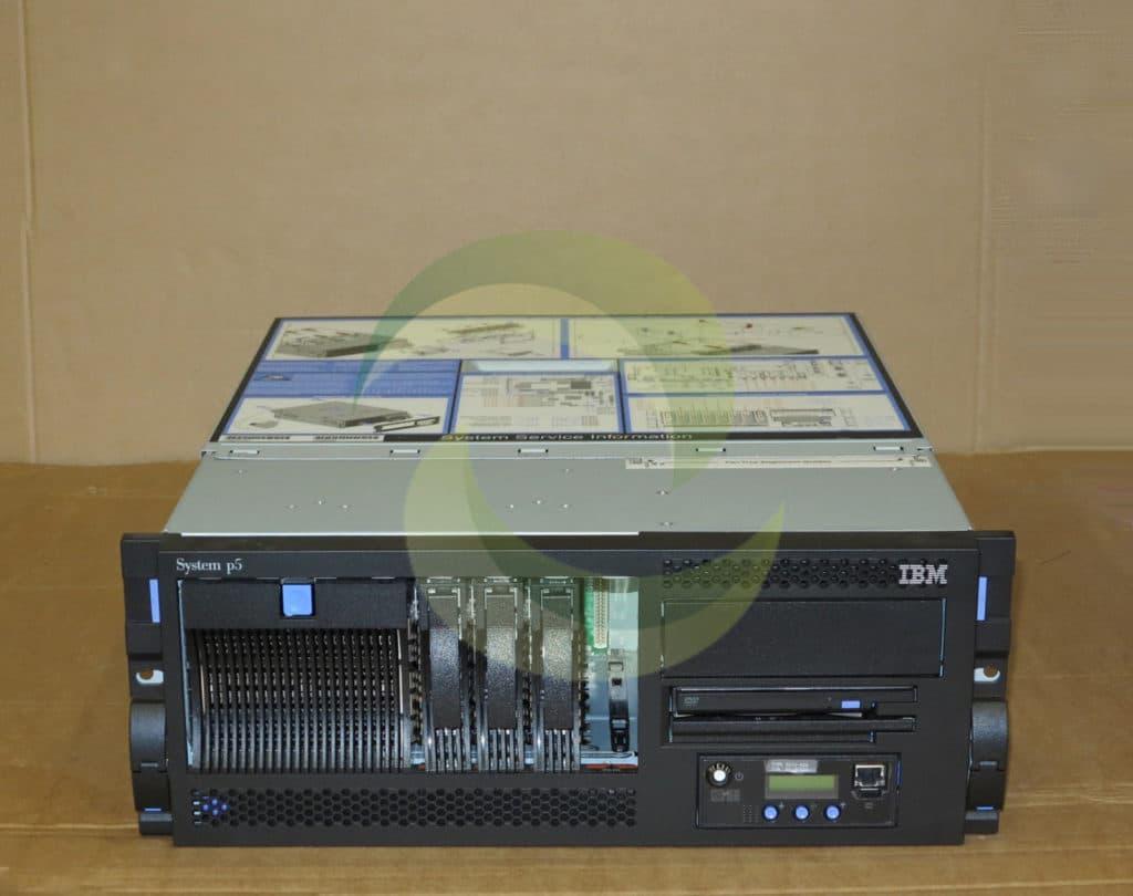 Ibm System P5 520 4u Rackmount Server 9131 52a 2 Way 2