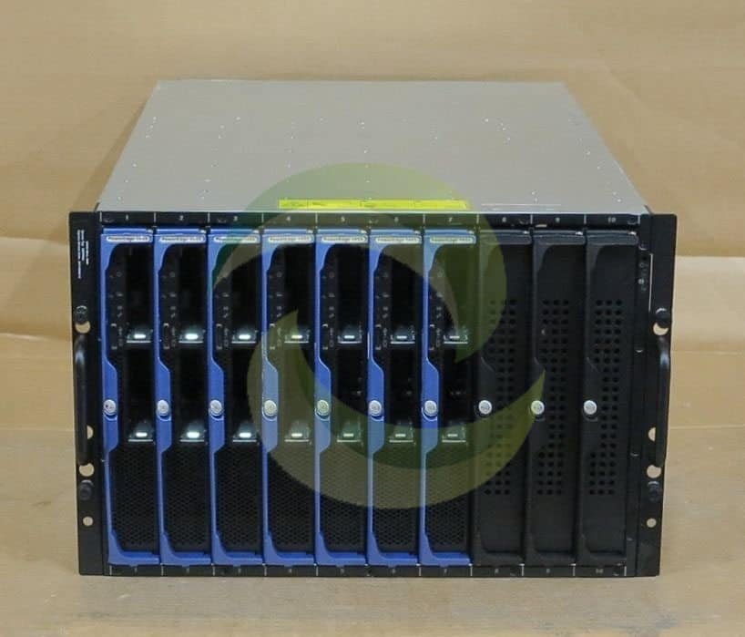 Dell Poweredge 1955 Blade Chassis 7 X Pe1955 2 X Quad
