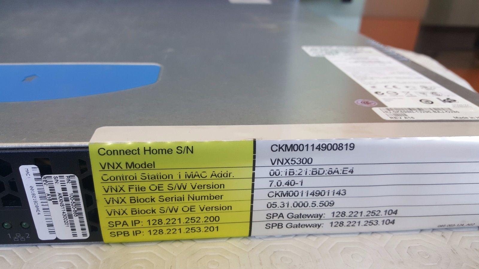 VNX 1U Control station Dell DP//N:K698N EMC² 100-520-665//Dell Celerra NX4